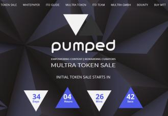 Pumped_MULTRA ICO LANDING